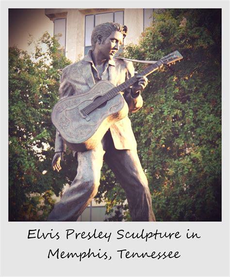 Polaroid of the week: Elvis Presley Statue in Memphis