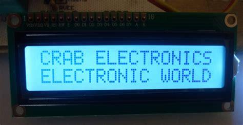 Lcd Arduino 2x16 lcd 2x16 luz blanca letras negras arduino pic avr robot