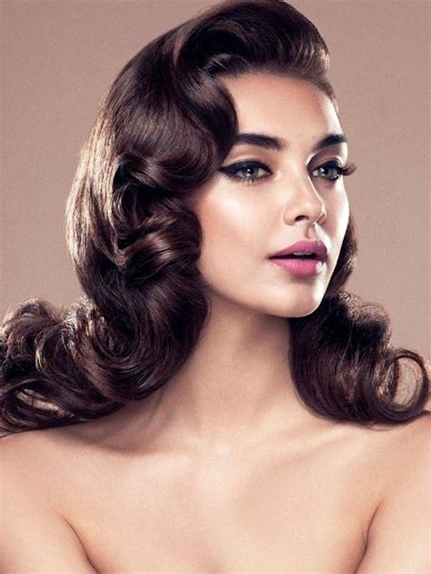1940s style with fine hair 15 photo of long hair vintage styles