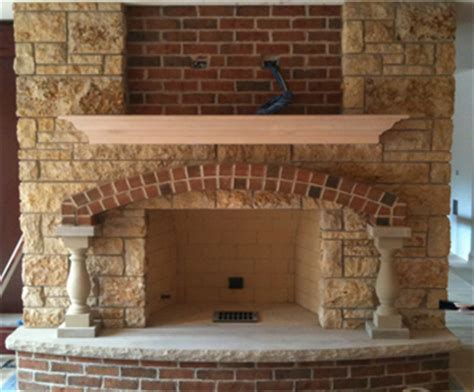 Fireplace Masonry by Fireplaces Mansonry Brick Limestone