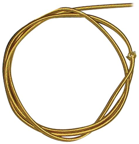 Braided Power Wire - wire 18 braided power cord parallel gold per