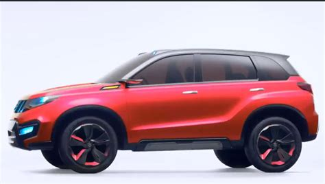 Suzuki Iv4 India Suzuki Iv4 Pink With Contrast Roof Indian Autos