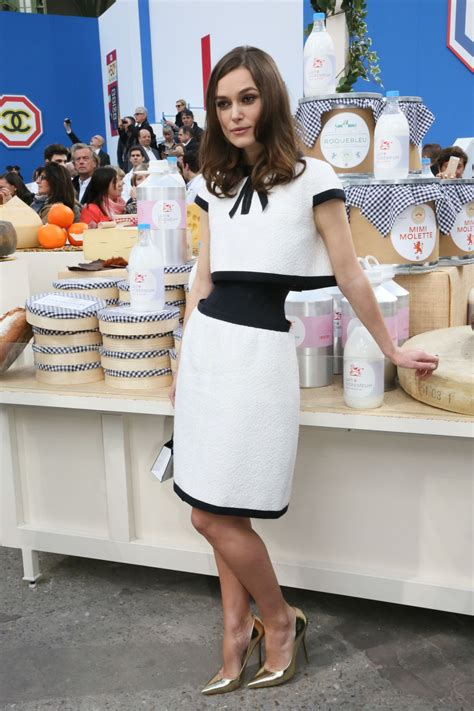 Winter At Chanel by Keira Knightley At Chanel Autumn Winter 2014 2015 Fashion