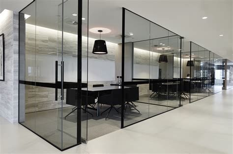 office indoor design glassed in meeting rooms what re some of the pros and