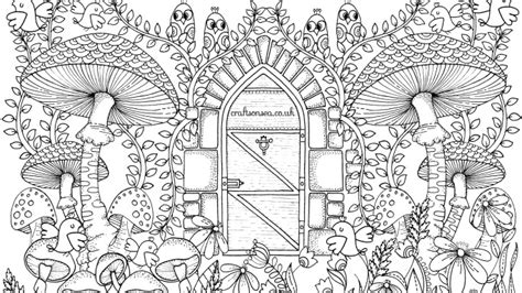 coloring pages for adults garden free garden coloring page for adults crafts on sea