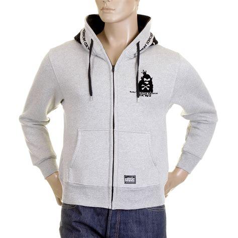 Hoodie Flock Martin Garry black new york skyline flock printed hooded sweatshirt