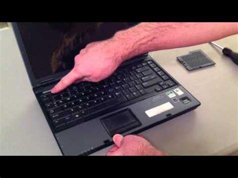 hp compaq 6515b memory upgrade installation youtube