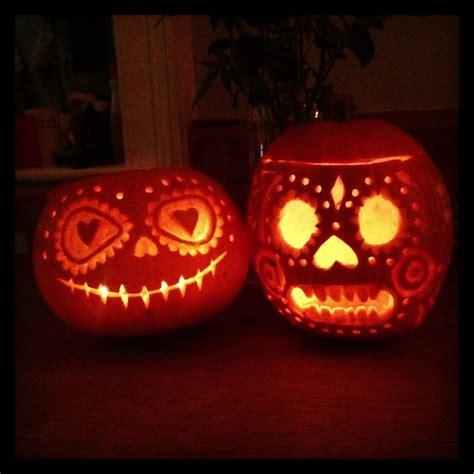 day of the dead pumpkin template 9 best dia de los muertos images on