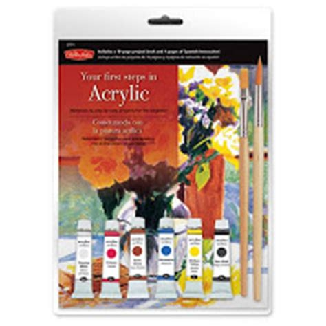 acrylic painting starter kit weekend kits february 2012