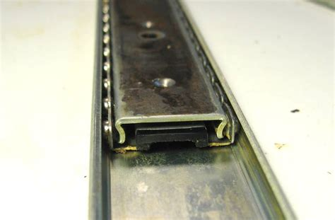 Cabinet Drawer Rollers Using Drawer Slides As Linear Glides
