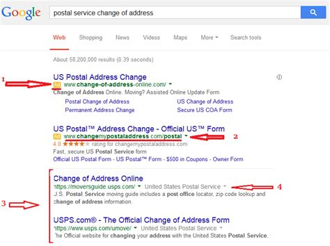 Us Postal Service Address Finder Postal Change Of Address Change Of Address Tips And Information