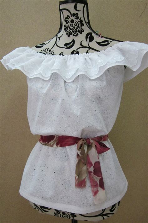 pattern maker in spanish pattern and instructions for making blouse llanera