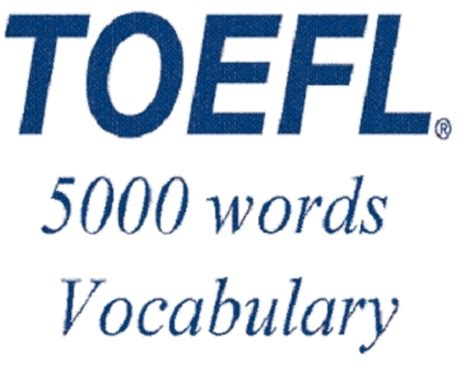 Mba Words Vocabulary by Toefl Audio Vocabulary In Use