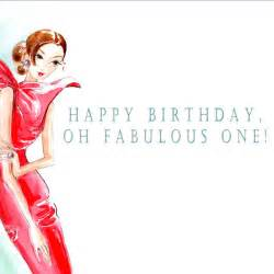 haute couture inspired greeting card happy birthday oh fabulous one 4 95 via etsy