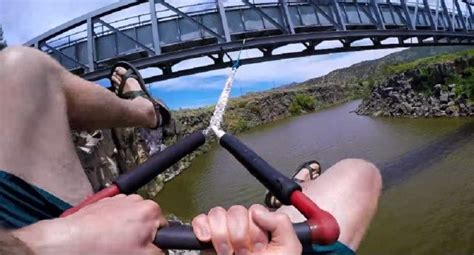 rope swinging games this is the crazy river rope swing you ll want in your