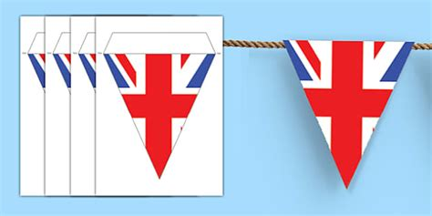 template of union bunting make your own union bunting union bunting great