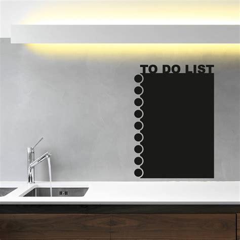 blackboard stickers for walls to do list blackboard wall sticker wall chimp uk