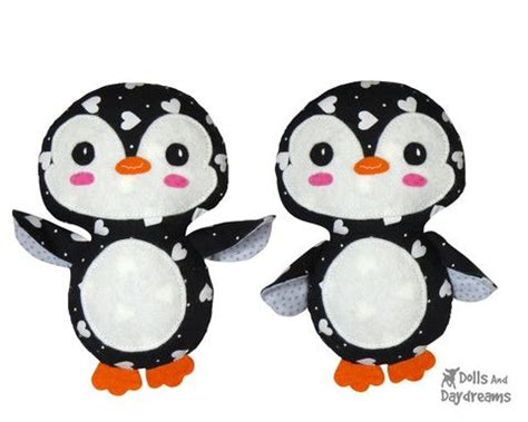 meet palmer penguin a doll sized softie or christmas 12 best images about softie sewing patterns on pinterest