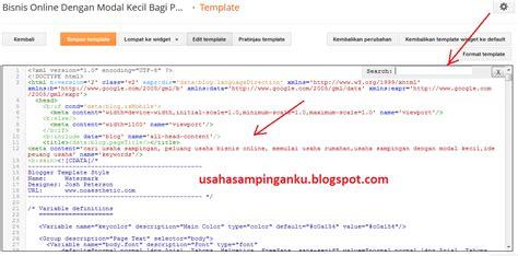 membuat kode html bisnis online dengan modal kecil bagi pemula cara membuat