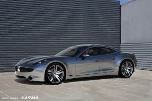 Electric Car Karma Fisker Karma To Launch At Electric Vehicle News