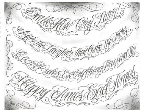 tattoo lettering dot net letras chicanas arte taringa