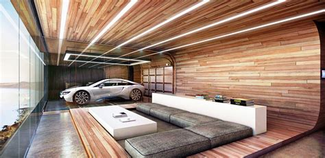 this home s garage is in the living room and bedroom