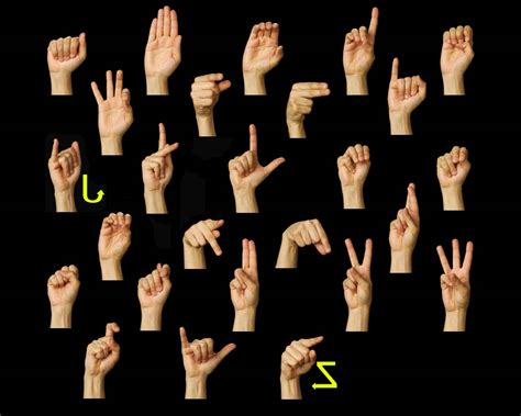 in asl sign language