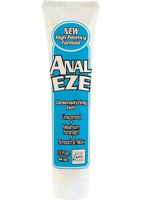 how to make anal more comfortable anal eze gel desensitizing anal gel sex toys passion