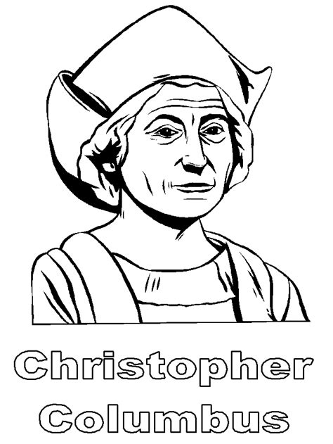 Christopher Columbus Coloring Pages Printable by Yahoo