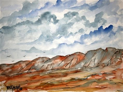 landscape watercolor paintings