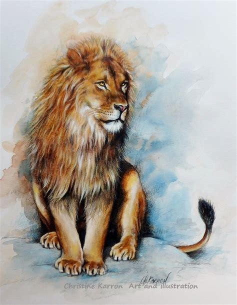 lions colors 1000 ideas about watercolor on