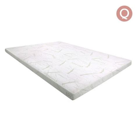 memory foam mattress topper with bamboo fabric cover 7cm