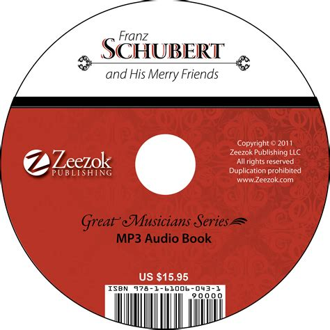 format of audio books franz schubert and his merry friends audio book on cd mp3