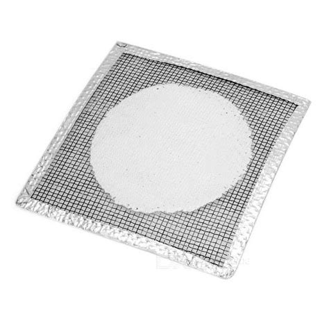 Gauze Mat Science by Asbestosed Wire Gauze Heat Insulation Experimental Mats Pads White 5 Pcs Free Shipping