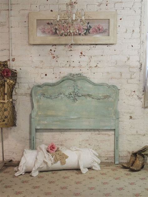 reserve listing painted cottage chic shabby aqua