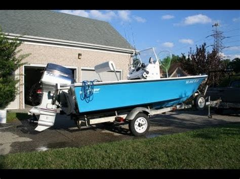 runabout fishing boat conversion custom center console boat conversion part 4 youtube