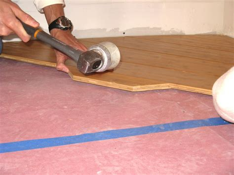 Diy Bamboo Flooring by How To Install Bamboo Flooring On A Diagonal How Tos Diy