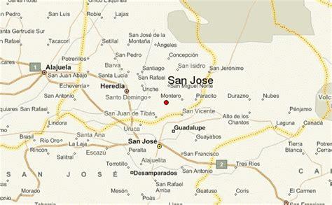 san jose location map san jos 233 location guide