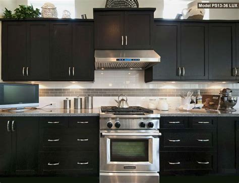 Kitchen Cabinet Hoods Inte Counter Range Optional Led Lights Set Of 2 Kitchen Space Pinterest