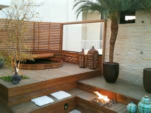 Japanese style wooden soaking tubs make great pool hot tub alternative