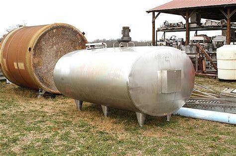 Lava L Tank by 1500 Gallon Delaval Horizon 121539 For Sale Used