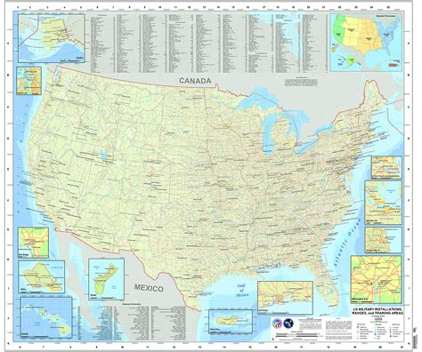 bases in usa map air national guard bases locations air get free image