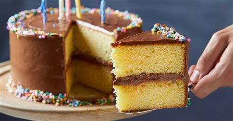 perfect birthday cake tasting table