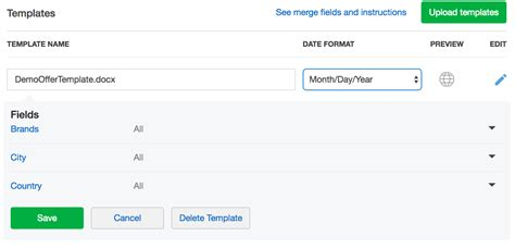 Create Offer Template For Docusign Smartrecruiters Create Docusign Template
