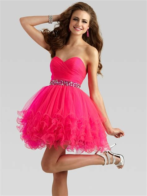 vestidos de quince con volados vestidos de fiesta quotes dise 241 os de vestidos cortos 15 a 241 os color fucsia vestidos