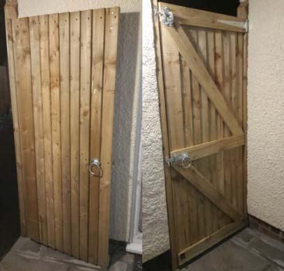 garden gate   ledge  brace style diy