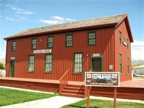 utah southern railroad depot lehi utah stations