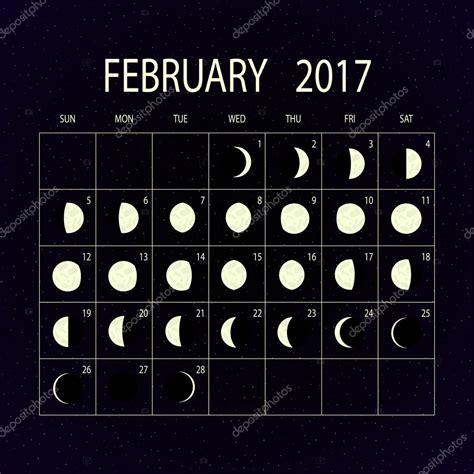 Calendario Lunar Febrero 2017 Calendario De Las Fases De La Para 2017 Febrero