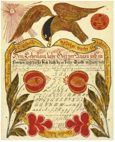 Berks County Birth Records 2600 Best Fraktur And Folk Images On Canvases Christian And