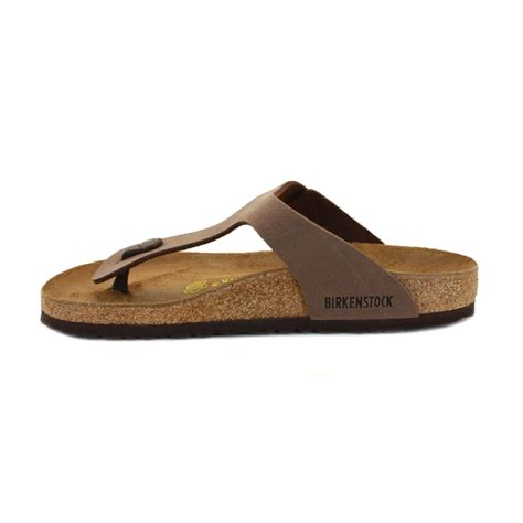 birkenstock sandals womens birkenstock gizeh sandals womens slip on shoes brown ebay